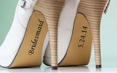 Zapatos de novia.