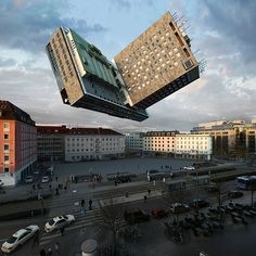 Distorted architecture by Victor Enrich   the PhotoPhore