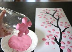Christmas Gift Craft for Kindergarten | Flower crafts for preschoolers. | Handmade website