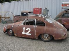 Porsche 356  (back in the 1960's I drove one very much like this only mine was white.)cj