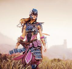 Game Character, Character Concept, Character Design, Horizon Zero Dawn Aloy, Beast, Mileena, Pose Reference Photo, Mecha Anime, Warrior Princess