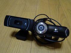日本全国各地遠方の方も多いので ドクターグループ長会議で ビデオ会議を取り入れることになり 今日はセッティングのテストと確認 Logicool Webcam Pro 9000 Logicool HD Pro Webcam C910