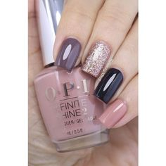 Grape Fizz Nails ❤ liked on Polyvore featuring beauty products and nail care