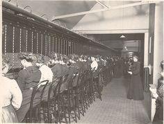 London telephone exchange 1904