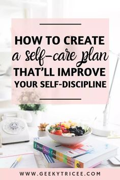 Good Habits, Healthy Habits, Healthy Mind, Healthy Recipes, Quotes Thoughts, Self Discipline, Care Plans, Self Improvement Tips, Self Care Routine
