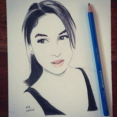 @Regrann from @louie_the_artist -  Julia Barretto Minimal Sketch. @juliabarretto #juliabarretto #julnigo #andiloveyouso #girl . . . . #art #arts #love #artwork #artsy #artist #draw #drawing #nawden #sketch #sketching #sketchdaily #sketchpad #sketchbook #igart #instaart #aotd #artoftheday #instalike #instagood #portrait #illustration #sketchdaily #pretty