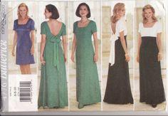 WOMENS SEWING PATTERN Butterick 4776 Easy  Dress by retrochick66, $6.50