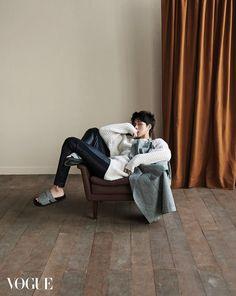 Park Hae Jin - Vogue Magazine November Issue '15