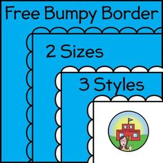 Free Bumpy Borders!