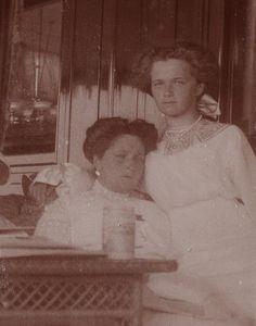 Alexandra Feodorovna and Olga Nikolaevna
