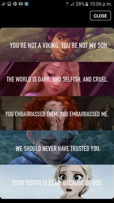 The Big Five. Hiccup, Rapunzel, Merida, Jack, Elsa Rise of the Brave Tangled Fro - Disney - Memes Disney Memes, Disney Pixar, Disney Princess Memes, Funny Disney Jokes, Film Disney, Disney And Dreamworks, Disney Animation, Disney Love, Funny Memes