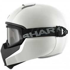 Casque Integral Shark Vancore Blank WHU