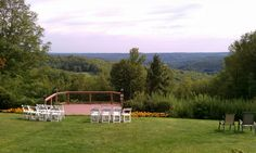 The view from Main sign at The French Manor in South Sterling, PA
