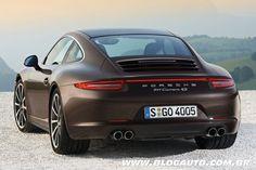 Porsche apresenta nova geração do 911 Carrera 4 e Carrera 4S - Blogauto