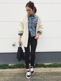 TODAYFULのカーディガン「Hand Knit Cardigan」を使ったyanのコーディネートです。WEARはモデル・俳優・ショップスタッフなどの着こなしをチェックできるファッションコーディネートサイトです。