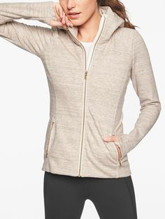 I may have too many hoodies. Is that possible? Athleta Luxe Stronger Hoodie