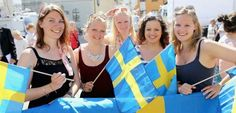 Шведские женщины против Путина