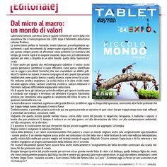 è uscito il numero di #Marzo di #TABLETRoma!  il mensile Free Press d'informazione, attualità, cultura, spettacolo, moda, e tanto altro ancora, distribuito gratuitamente su #Roma.  In attesa del cartaceo... Leggeteci Issuu:  http://issuu.com/tablet_roma/docs/tablet_roma_marzo_2015 #TabletRoma #Marzo2015 #Expo2015 #rivista #copertina #March2015 #magazine #cover