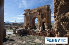 #Ruins of #Timgad, #Batna, #Algeria. Discover #GNV routes from/to #Maghreb here: www.gnv.it/en/.