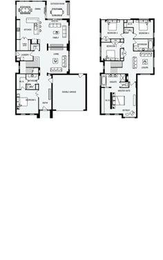 Newbury 35 plan ausbuild floor plans pinterest for Home builder interactive floor plans