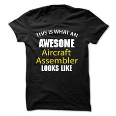 Awesome Aircraft Assembler Jobs Look Like JD T-Shirts, Hoodies. CHECK PRICE ==► https://www.sunfrog.com/Funny/Awesome--Aircraft-Assembler-Jobs--Look-Like--JD.html?id=41382