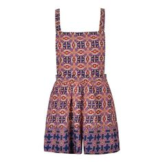 PAISLEY PINAFORE PLAYSUIT