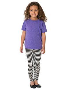 American Apparel Kids Stripe Cotton Span...