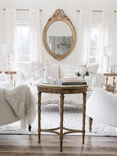 Elegant French Flair Home Tour - Come Visit! - Agnes Bloore - Elegant French Flair Home Tour - Come Visit! Elegant French flair with two beautiful home tours filled with vintage treasures. Lots of inspiration in today's modern French decor styling! Modern French Decor, French Style Decor, French Home Decor, French Country Decorating, Modern French Interiors, French Home Styles, Vintage French Decor, French Rustic Decor, French Cottage Decor