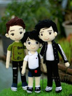 Super Design Ideas for Crochet Amigurumi Dolls Crochet For Boys, Cute Crochet, Crochet Baby, Amigurumi Patterns, Amigurumi Doll, Doll Patterns, Knitted Dolls, Crochet Dolls, Crochet Doll Pattern