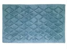 Solid Color Mineral Cotton Bath Rug with Latex Non Skid Backing 21 x 34 Inches #BathRug #BathMat #LatexBacking #AbsorbentMat #SoftMat #DoorMat #Mat #Rug #SkidResistant #NonSlip #Home #Kitchen #Bathroom #Bath