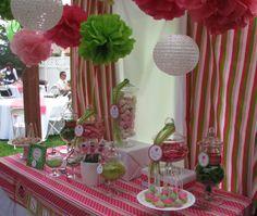 pink and green ladybug birthdayparty   shoomie Occasions: Pink and Green Ladybug 1st Birthday