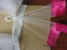 Make a ribbon trimmed tutu