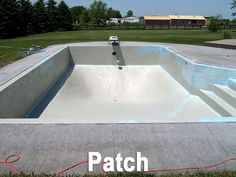 Info on common pool repairs including replacing tiles and - Swimming pool expansion joint sealant ...