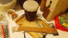 自作楽器研究所|Homemade Instruments: バンジョー・バイオリン:Homemade Banjo Violin|自作楽器