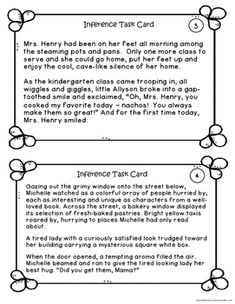 Teaching Inference in Elementary Grades | Classroom Caboodle