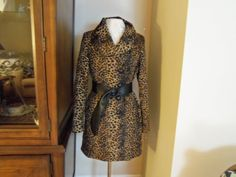 Vintage Asymmetrical Front Leopard Print  Small by josephine7075, $35.00