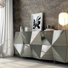 ESF Furniture Wholesaler specializes in European modern and classic furniture and has 3 warehouse locations in New York, California and Canada. Black Sideboard, Wood Sideboard, Modern Furniture Online, Classic Furniture, Wood Storage, Storage Spaces, Cama Box, Home Room Design, House Rooms