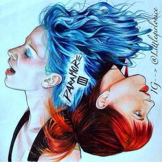 Paramore fan art! This is amaziiiiing!! ^*^