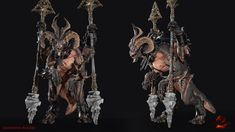 ArtStation - The Warden (Guild Wars 2), Samantha Rogers