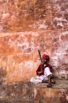Musician in Jaipur - India