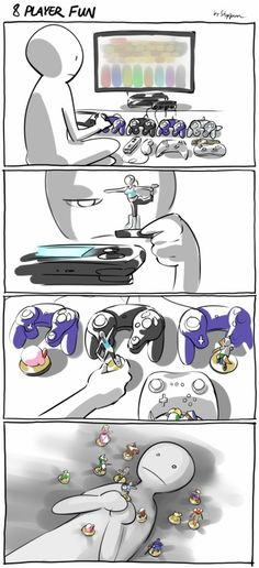 Something I would do<<< Hold one of the hardest to get amiibos in your hand?  I agree. I wouldn't let that Wii Fit Trainer go.