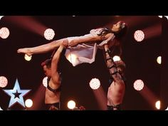 Spartans Resurrection are back with daredevil gymnastics | Semi-Final 1 | Britain's Got Talent 2016 - YouTube