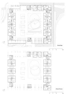"Galeria de Habitações Sociais Para Alugar ""Le Bois Habité"" / Pich-Aguilera…"