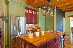 Kreative Ideen für mehr Farbe in der Küche