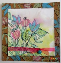 Delicate Florals by Helen Chilton - That's Crafty! Distress Oxides, Color Card, Different Colors, Florals, Delicate, Stamp, Colours, Crafty, Projects