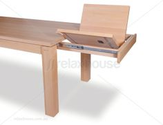 Extendable Designer Solid Wood Dining Table