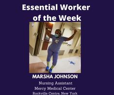 Essential Worker of the Week: Today, I'd like to acknowledge Marsha Johnson, a Nursing Assistant at Mercy Medical Center in Rockville Centre, New York. Thank you for your service! Unsung Heroes by Benita Charles honors our Essential Workers! It's available on all music and streaming platforms. #newmusic #unsungheroes #essentialworkers #honor #thankyou #marshajohnson #healthcare #newyork #awesome Rockville Centre, Unsung Hero, Nursing Assistant, Singing Tips, New Music, All Things, Health Care, Essentials, Medical