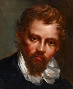Self portrait by ANNIBALE CARRACCI