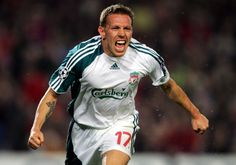 Craig Bellamy - a true fighter for the Liverpool cause. He netted at the Nou Camp in 2007 and fired the Reds to Wembley in 2012. Does he make your top 10, in association with Carlsberg?