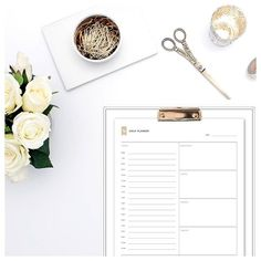 Schedule your day with the help of our #free #daily #planner and focus on what really matters!  http://www.spotebi.com/fitness-tracker/daily-planner-template/ @spotebi #Freebie #Fitness #Printable #Healthy #Happy #Fit